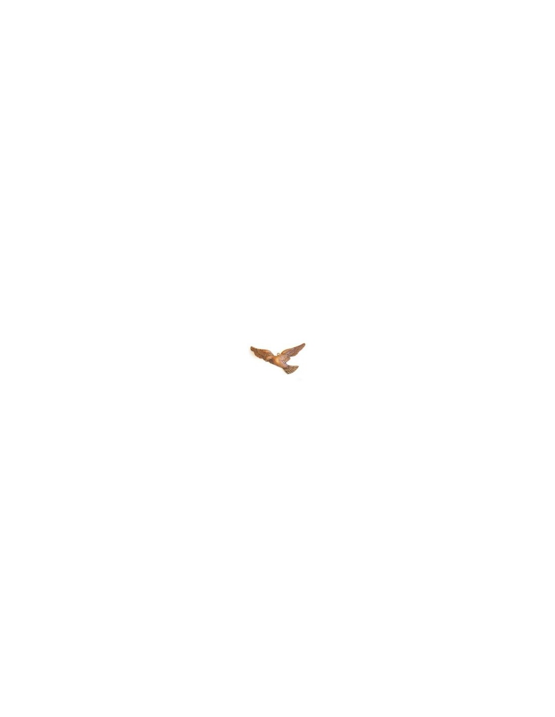 Figura Espiritu Santo Colgar Madera 15cm