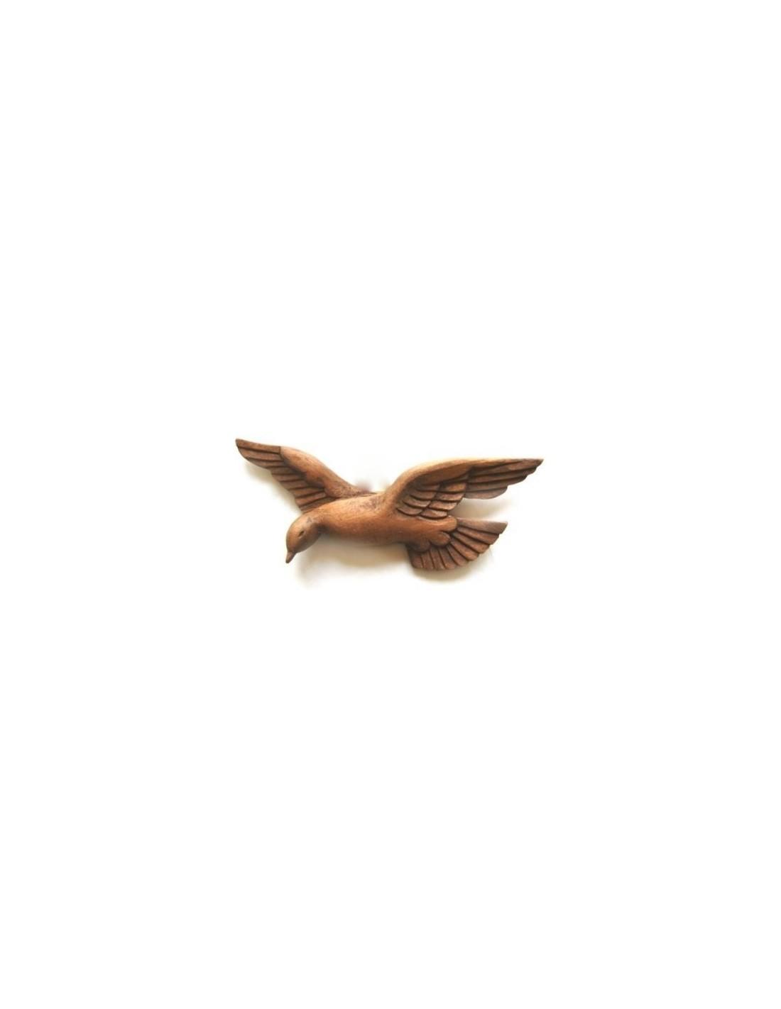 Figura Espiritu Santo Colgar Madera 30cm