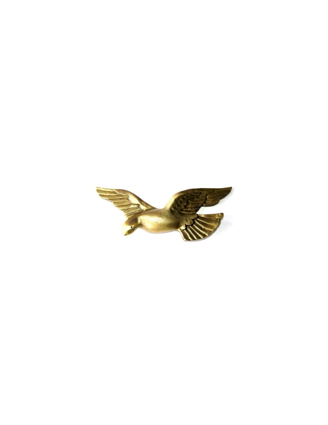 Figura Espiritu Santo Colgar Metal Dorado 15cm